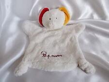 Doudou éléphant Papoum, Fleurus Presse, Blankie/Lovey/Newborn toy