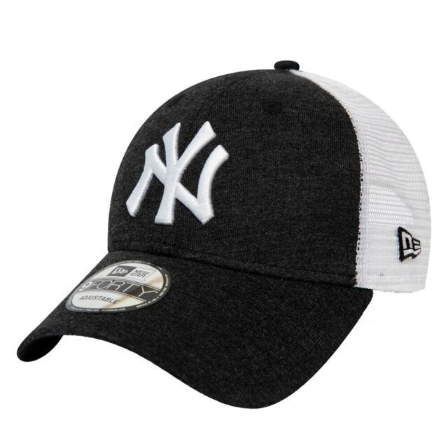 New Era Hombre Verano Liga Ny Yankees Gorra Blanco Negro Nuevo
