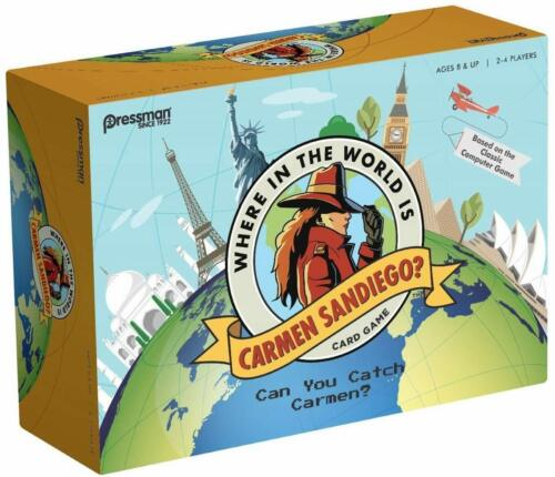Where is the World is Carmen San Diego Game? 2017