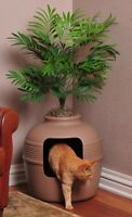 Large Cats Hidden Litter Box Pot Plant Cat Pet Supplies Indoor, Plant Included on Sale
