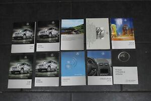 Mercedes-W463-Handbuch-Bedienungsanleitung-Bordbuch-Leder-Mappe-Tasche-G-Klasse