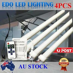 4X12V-50CM-LED-Strip-Lights-BAR-Caravan-Camping-BOAT-Awning-Tent-Car-Remote