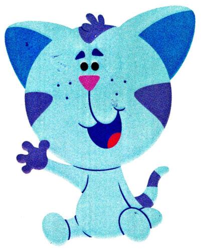 "6/"" Blues clues kitten safe sticker border cut out character"