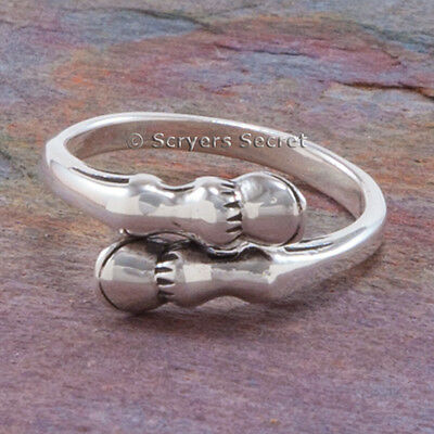 925 sterling silver EQUESTRIAN HORSE HOOF LEG foot hooves Jewelry Ring 5 6 7 8