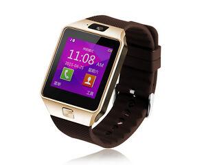 Bluetooth DZ09 Reloj Inteligente GSM SIM Tarjeta Cámara para Móvil Android IOS