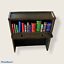 thumbnail 4 - The Addams Family pinball TAF mods Bookcase, cart, Greed bookPackage deal