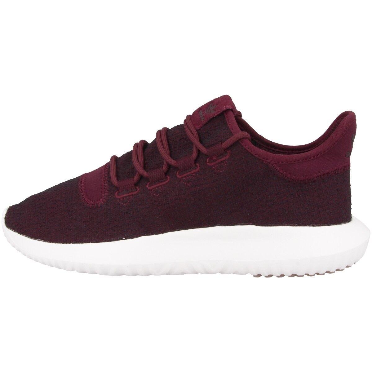 Adidas tubular Shadow Men zapatos calcetines cortos zapatillas Maroon gris cq0927