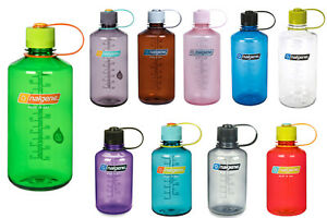 NALGENE-Narrow-Mouth-Trinkflasche-0-5-1L-BPA-frei-Everyday-Wasser-Sport-Flasche