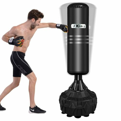 170cm Heavy Duty Free Standing Boxing Target Punch Bag  Kick Training Arts UK