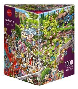 BIRGIT TANCK - PARTY CATS - Heye Puzzle 29838 - 1000 Teile Pcs.