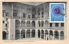 BT1941 kruzganki palacu krolewskiego Wawel Krakov Crakovie   poland