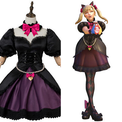 Overwatch Dva D Va Song Hana Cosplay Costume Black Cat