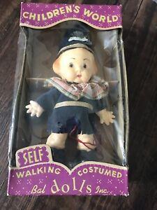 Details about  /VINTAGE CHILDRENS WORLD SELF WALKING COSTUMED BAL DOLL