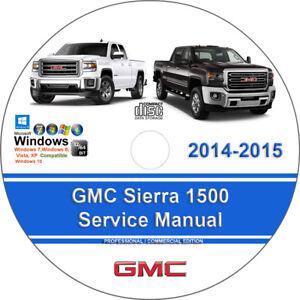 GMC-Sierra-1500-2014-2015-Factory-Workshop-Service-Repair-Manual