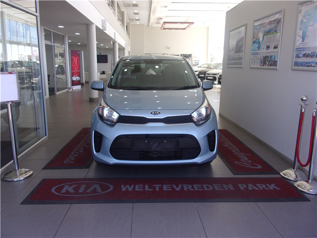 CELESTIAL BLUE Kia Picanto 1.2 Start AT with 50km available now!