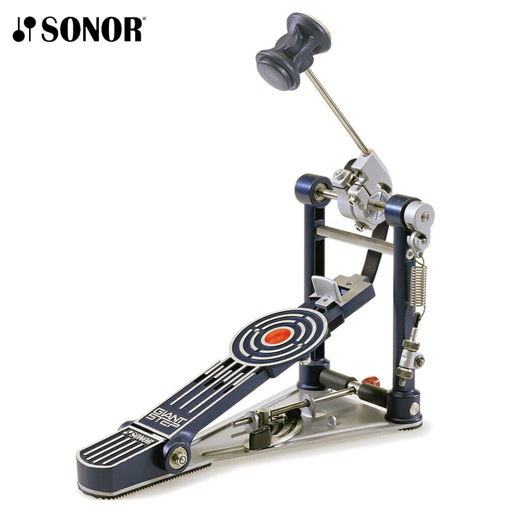 Sonor GSP-3 Giant Step Single Pedal Bass Drum Pedal with Docking Station w  Bag