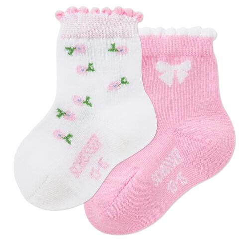 Schiesser Baby calcetines babysöckchen 2er Pack 10-12 16-18 nuevo calcetines 13-15