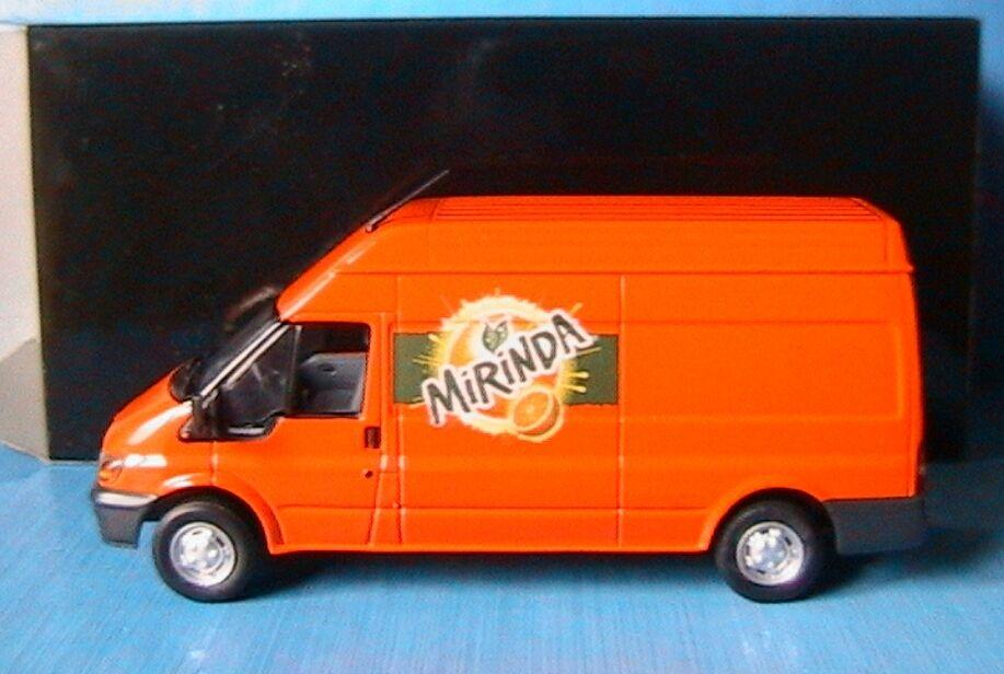 FORD TRANSIT TOLE KASTENWAGEN 2000 MIRINDA MINICHAMPS 430089301 1 43