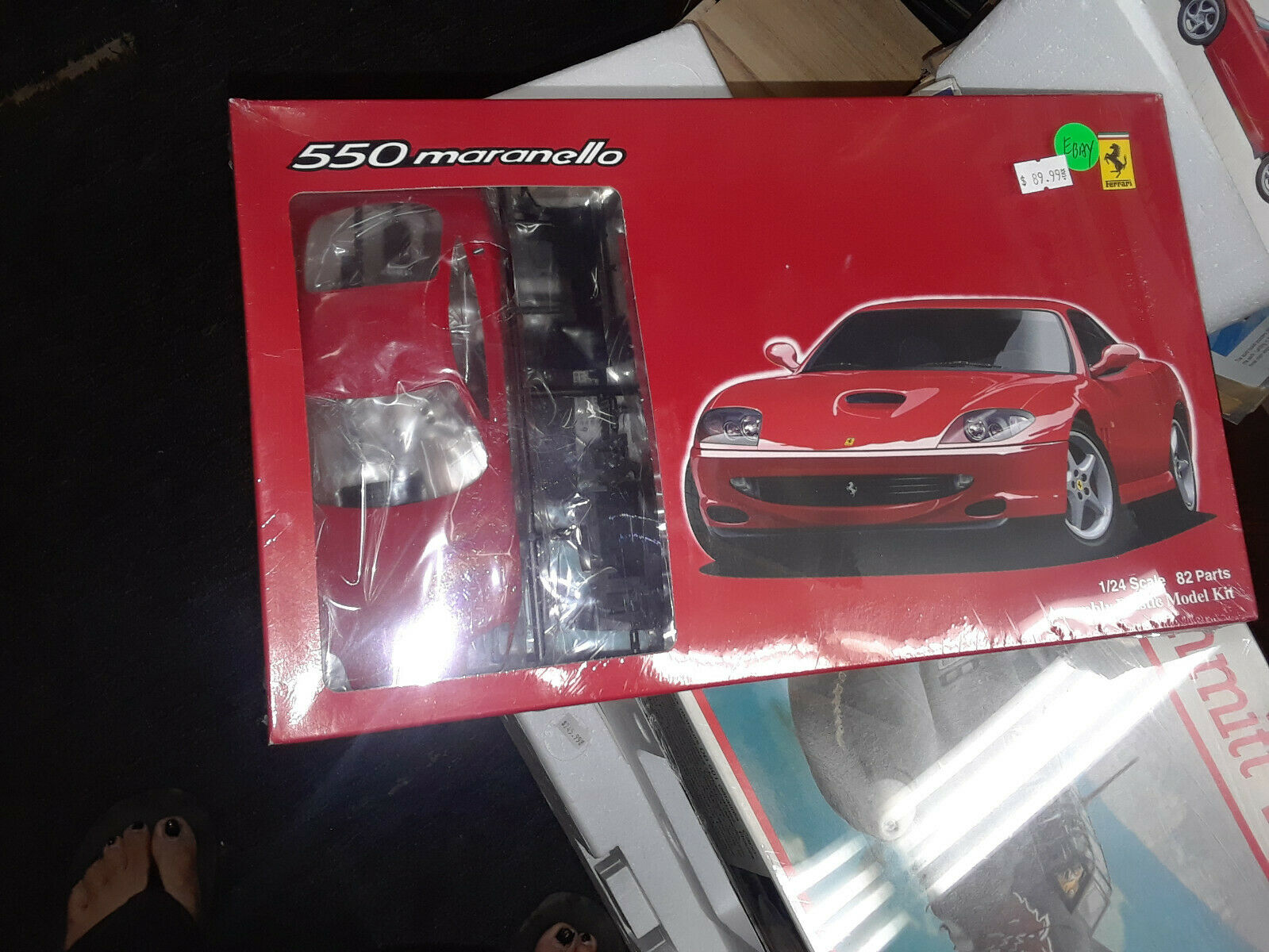 Ferrari 550 Maranello model kit 1 24 scale