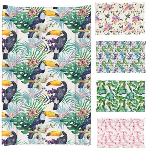 Wickelauflage 70x50 abwaschbar PVC 2 Keil soft Wickelunterlage Flora/&Fauna