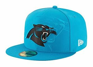 New Era 59Fifty Cap Carolina Panthers 2016 On Field Sideline Fitted Team Hat