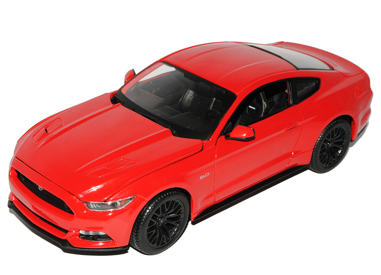 Ford Mustang VI VI VI Coupe red Ab 2014 1 18 Maisto Modell Auto mit oder ohne indivi.. a246ef