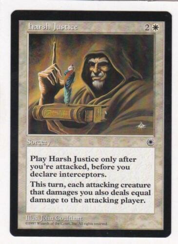 Portal Harsh Justice MTG