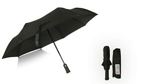 Automatic open and close Umbrella with LED torch Light Compact Folding Windproof