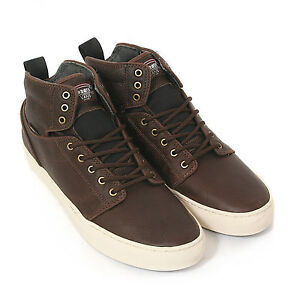 7de65901b00c40 NIB Vans OTW ALOMAR STEELHEAD BROWN LEATHER ANTIQUE HI TOP BOOTS Men ...
