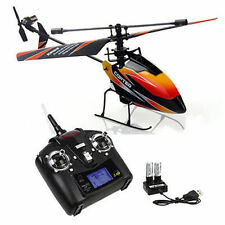 WLtoys V911 RC Helicopter Drone Radio 4CH 2.4G Single Blade Propeller Gyro RTF V