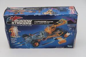SHADOW-STRIKERS-Vehicle-TYPHOON-Racer-Kenner-1990-Complete-In-Box-CIB