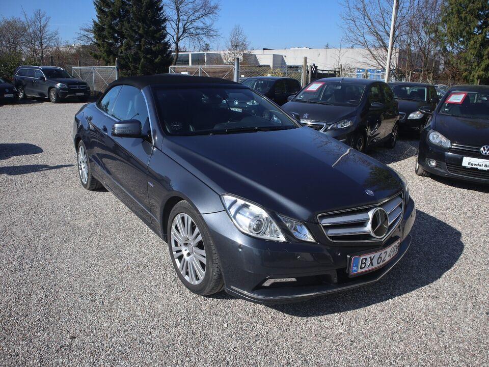 Mercedes E250 2,2 CDi Cabriolet aut. BE Diesel aut.
