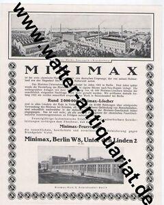 Minimax-Feuerschutz-Feuerloescher-Berlin-Grosse-Werbeanzeige-anno-1925-Reklame
