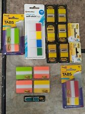 Misc Lot Of Post It Notes Flags Tabs
