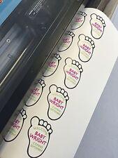 "PRINTABLE Heat TShirt Transfer Vinyl White Express Print 20"" x 5 YDS EZ to Weed"