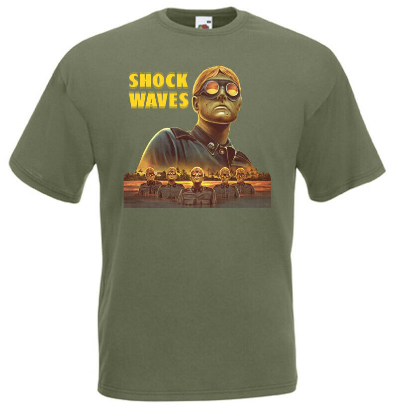 OLD MOVIE,100/% COTTON,SIZES S-5XL,MENS T-SHIRT G0538 SHOCK WAVES,HORROR,1977