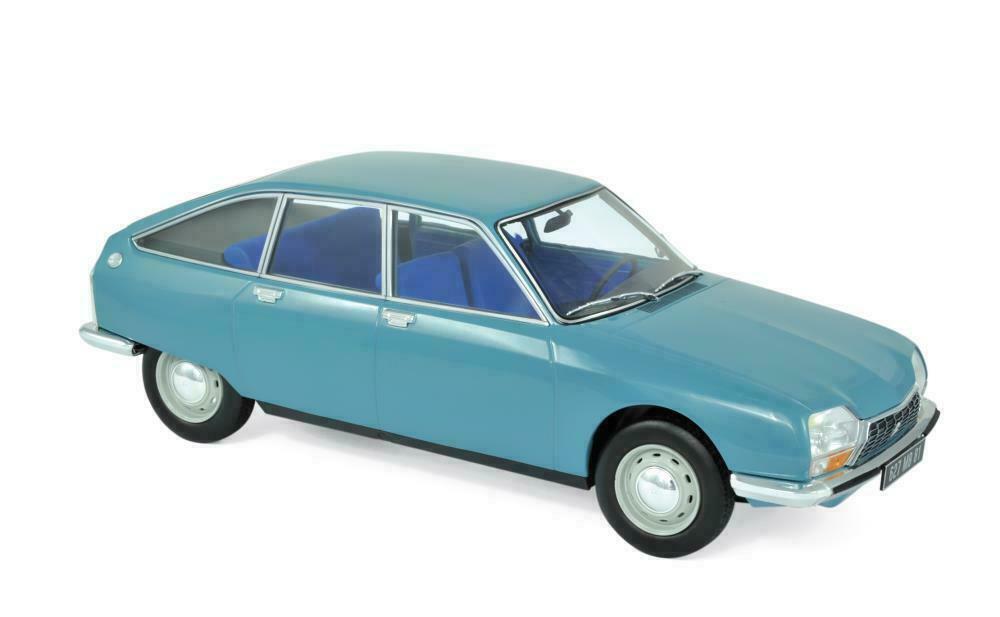 con il 60% di sconto NOREV COLLECTORS 1 18 AUTO DIE CAST CAST CAST CITROEN GS CLUB 1972 CAMARGUE blu 181625  vendite calde
