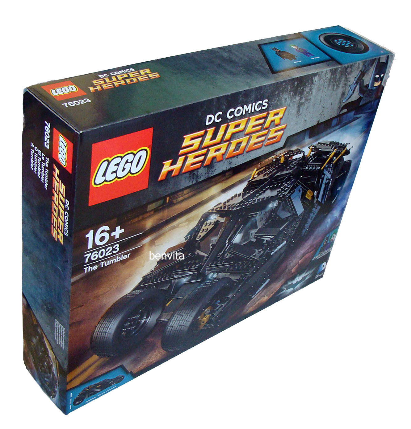 Lego® Super Heroes Heroes Heroes 76023 - The Tumbler 1869 Teile 16+ - Neu bcecee