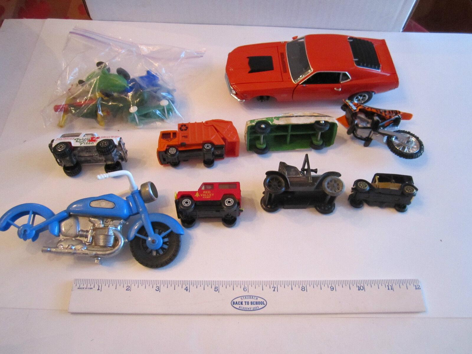 Colección de VTG. Diecast Cars-Metal Y Plástico-unsearched-Lote 1-Bañera Rrr