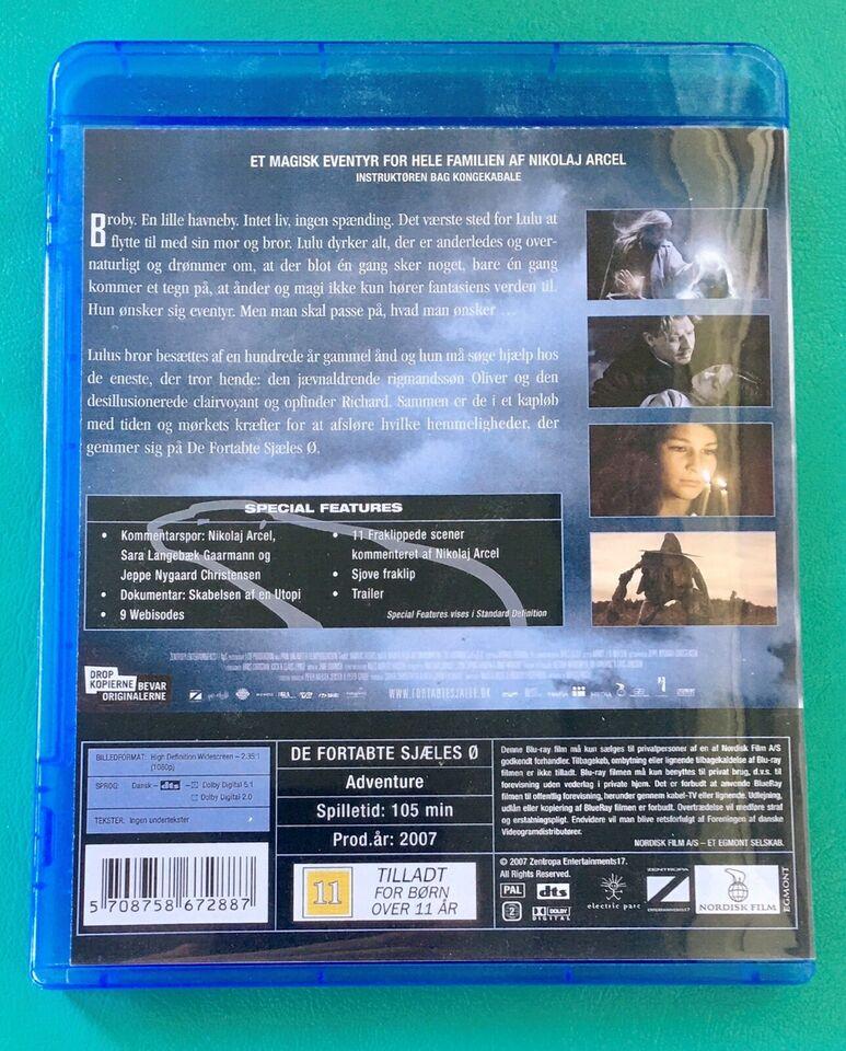 De fortabte sjæles Ø, Blu-ray, eventyr