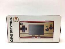 Nintendo Game Boy Advance Micro Famicom 20th Anniversary Limited Console Japan
