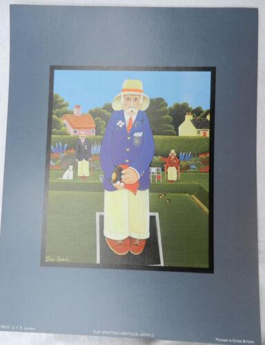 Lot de huit sportifs Heritage Prints-Peter Heard-Prêt à encadrer-Neuf