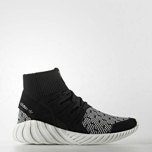 lace up in new release 2018 shoes adidas Tubular Doom PK Black S74921 Men Sizes 100 Authentic 10 for ...