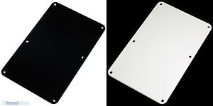 NEW BLACK 1 Single Ply Back Plate Tremolo Cover for Fender Stratocaster Strat®