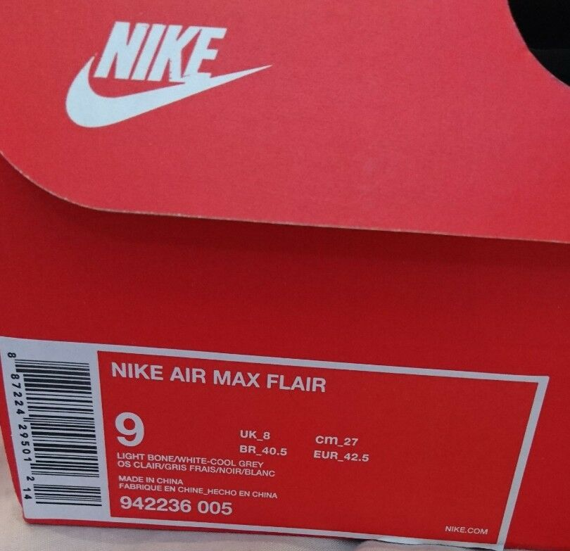Nike air max flair mens mens flair ausbilder leichte knochen laufschuhe bnib 942236 005 87d01b