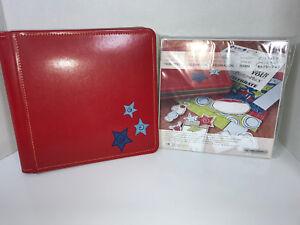 Creative-Memories-CELEBRATION-8-x-8-Red-Album-Kit-Celebrate-PicFolio-Birthday