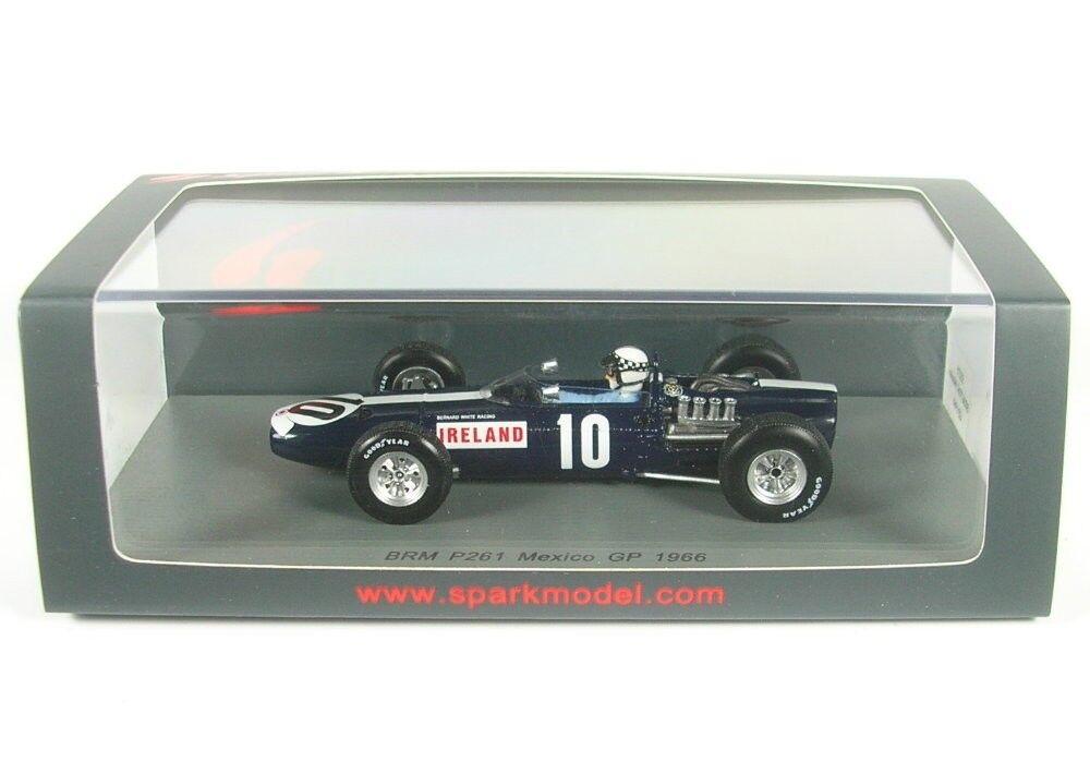 Brm P261 No.10 Mexican Gp Formula 1 1966 (Innes Ireland)