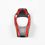 Carbon Fiber Inner Gear Lever Shift Knob Cover Trim For 2015-2020 Jeep Renegade