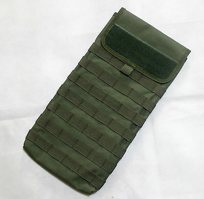 New Molle Tactical MBSS Hydration Carrier Pouch With Velcro BK/OD/MC/MP--Airsoft