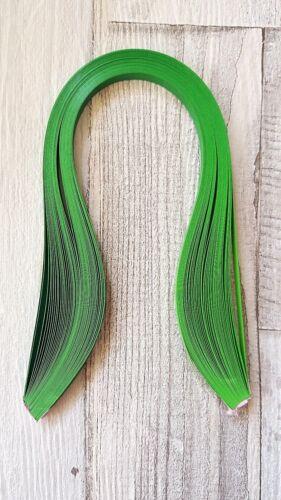 5 mm de ancho 50 verde primavera a Verde Graduado//sombreada Quilling Tiras Papel